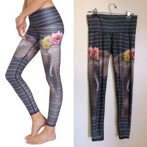 Teeki - Love The Elephant Hot Pant Leggings